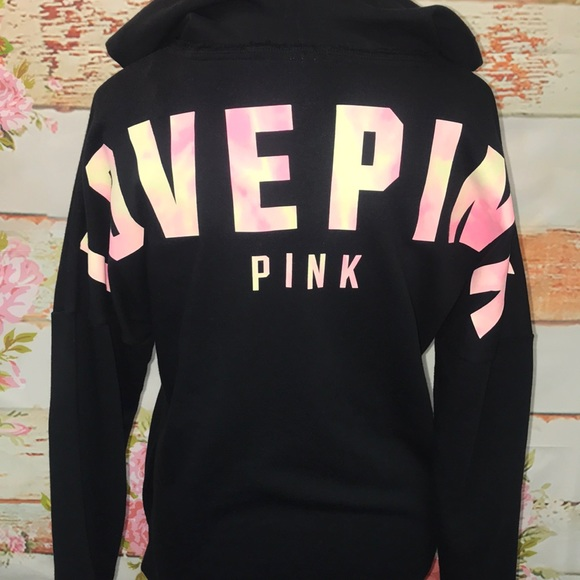 9b17c4bea902c NWT PINK Strappy Front Varsity Pullover NWT